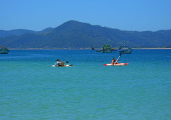 Kayak-Tour in Florianópolis