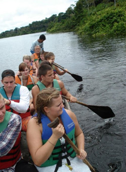 Amazon Canoeing around Leticia