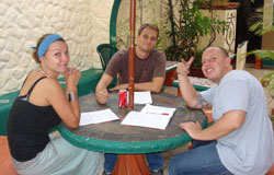 Small group Spanish lessons in Heredia